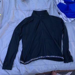 Black under armor jacket